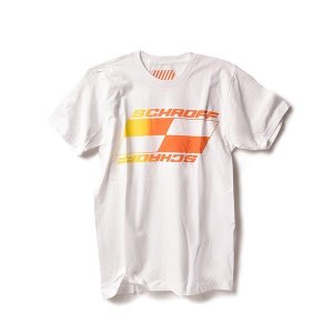 SCHROFF/Tシャツ/GRADATION/T-SHIRT/WHITE|standardstore