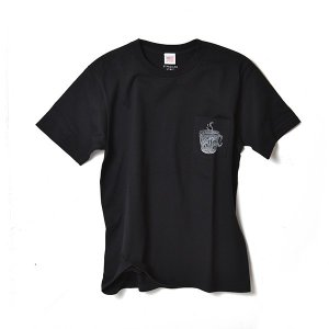 STANDARD STORE /COFFEE/T-SHIRT/Tシャツ/ポケット/BLACK|standardstore