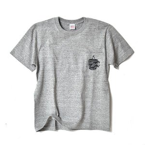 STANDARD STORE /COFFEE/T-SHIRT/Tシャツ/ポケット/GRAY|standardstore