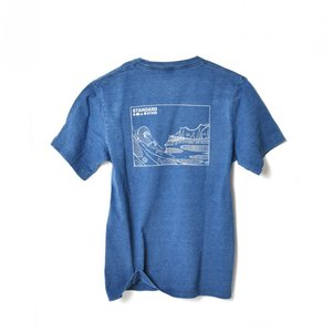 Andy Davis T-shirt Navy Indigo|standardstore