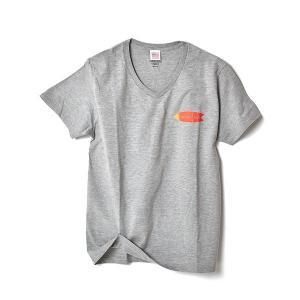 STANDARD STORE /FISH/T-SHIRT/Tシャツ/Vネック/GRAY|standardstore