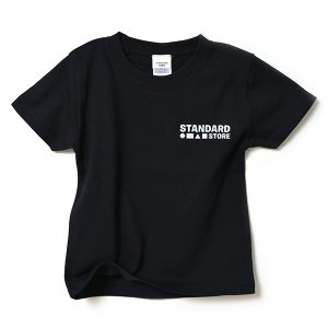 【KID'S】STANDARD STORE × ANDY DAVIS ORIGINAL T-SHIRT(LOGO)BLACK|standardstore