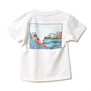 【KID'S】STANDARD STORE × ANDY DAVIS ORIGINAL T-SHIRT(BARREL)|standardstore