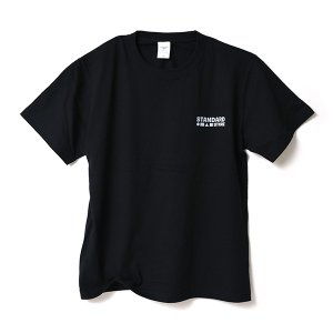 STANDARD STORE × ANDY DAVIS ORIGINAL T-SHIRT(LOGO)BLACK|standardstore