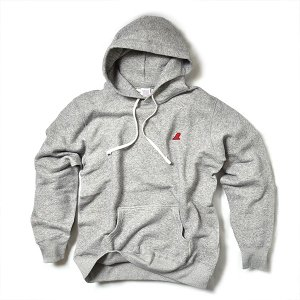 VOLN / PULLOVER PARKA / RED FIN / HEATHER GRAY|standardstore