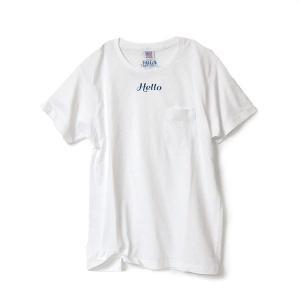 【60% OFF】VOLN/Hello California/Pocket/T-shirts|standardstore