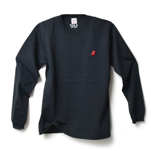 VOLN RED FIN HEAVY WEIGHT L/S T-SHIRT - BLACK|standardstore