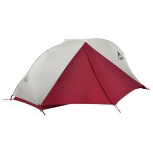 MSRの自立式テントの中で最も軽量なダブルウォールテント。キャノピーをマイクロメッシュにすることで通...
