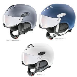 予約商品 17-18 uvex ウベックス  hlmt 300 566162  スキー バイザーヘルメット  UVEX|star-custom