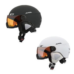予約商品 17-18 アルピナ  MENGA JV HM a9061  一体型バイザー付 スキーヘルメット alpina メンガ JV HM|star-custom