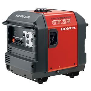 発電機 ホンダ発電機 .EX22-JNA2. サイクロコンバーター発電機 (スタンド仕様) 車輪無し|star-fields
