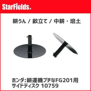 ホンダ耕運機プチなFG201/ピアンタFV200用 サイドディスク(.10759.) star-fields