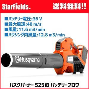 ブロワー ハスクバーナ 525iB バッテリーブロワ(バッテリー BLi200、急速充電器 QC330付属)|star-fields