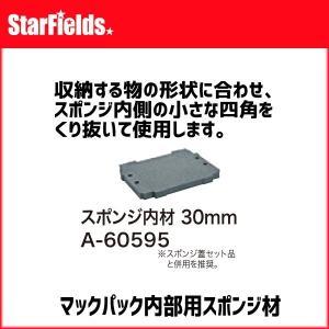 マキタ ツールボックス マックパック用スポンジ内材 30mm A-60595 star-fields