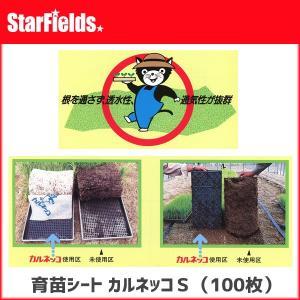 育苗シート カルネッコS(100枚)【代引き不可商品】 育苗|star-fields