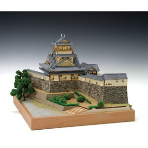 ウッディジョー 1/150 高知城  再建されたものである。廃城令や太平洋戦争の戦火を免れ、天守と本...