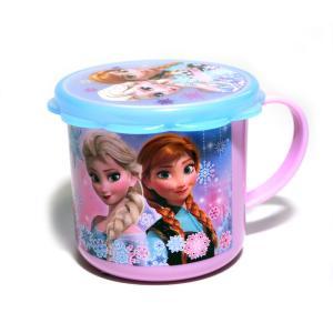 ディズニー フタ付きプラスチックマグカップ アナと雪の女王 GS-G18997|star-gate
