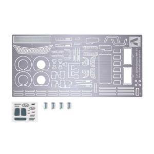 アオシマ プラモデル 1/24 ディテールアップパーツ No.04 GRBインプレッサWRX STI10用エッチング&メタルパーツセット star-gate