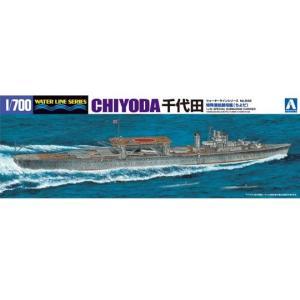 アオシマ プラモデル 特殊潜航艇母艦千代田 1/700 ウォーターライン 特殊潜航艇母艦 No.549 star-gate