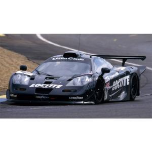 アオシマ プラモデル 1/24 スーパーカー No.15 マクラーレン F1 GTR 1998 ルマン24時間ロックタイト#41 star-gate