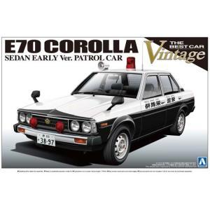 アオシマ プラモデル 1/24 ザ・ベストカーヴィンテージシリーズNo.36 E70系 カローラセダ star-gate