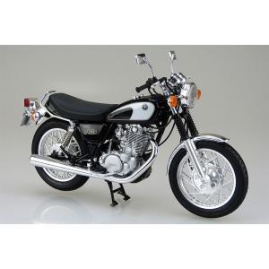 アオシマ プラモデル 1/12バイク No.17 ヤマハ SR400/500 '96  30年以上も...