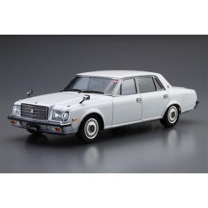 アオシマ プラモデル 1/24 ザ・モデルカー No.18 トヨタ VG45 センチュリーLタイプ '90