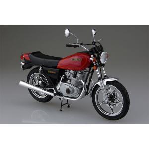 アオシマ プラモデル 1/12 バイク No.28 スズキ GS400E