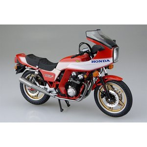 アオシマ プラモデル 1/12 バイク No.34 ホンダ CB750F ボルドール2 オプション仕様