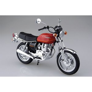 アオシマ プラモデル 1/12 バイク No.42 ホンダ ホークII CB400T