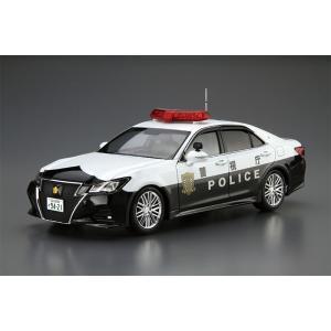 アオシマ 1/24 ザ・モデルカー No.110 トヨタ GRS214 クラウンパトロールカー 交通取締用 '16