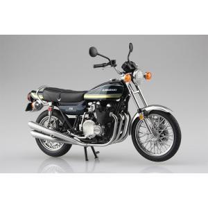 SKYNET 1/12 完成品バイク KAWASAKI 750RS Z2 玉虫ブルー