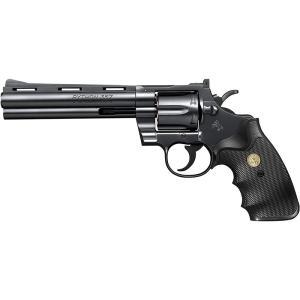 東京マルイ エアーリボルバー コルトパイソン.357マグナム 6インチ ブラックモデル 10才以上用|star-gate