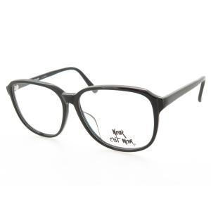 超薄型レンズ付セット スクエア型 クラシック セルフレーム N4504 ブラック 53サイズ