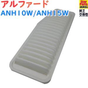 エアフィルター  適合車種 車名:アルファード 型式:ANH10W/ANH15W 年式:H14.05...