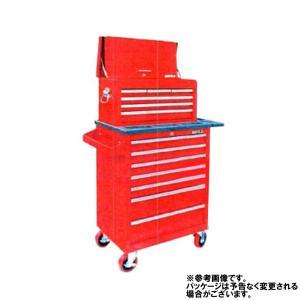 ダイイチオリジナル7段高級チェスト&ローラーキャビネット(レッド) DK12RS 株式会社ダイイチ|star-parts