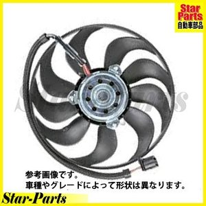 ラジエター電動ファンモーター Volkswagen フォルクスワーゲン ゴルフ4 1JAZJ|star-parts