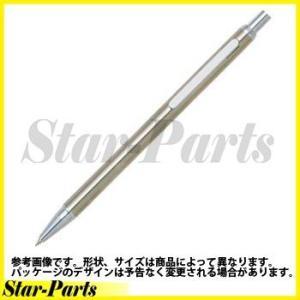 プラチナ万年筆 ステンレスボールペン ノック式・ボール径0.7 油性 黒インク|star-parts