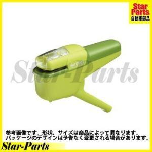 針なしステープラー ハンディタイプで10枚とじられる! 【タイプ】 色 緑 【仕様】 - 【メーカー...