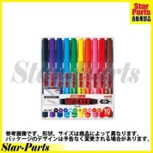 プロッキー極細+細字 10色セット PM120T10CN 三菱鉛筆|star-parts