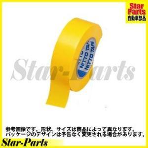 ビニルテープS 黄 19mm×20m J2572 ニトムズ|star-parts