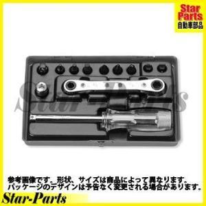プラスビットソケットセット 1/4inch(6.35mm)差込角 2254M ハンドソケット セット KOKEN|star-parts