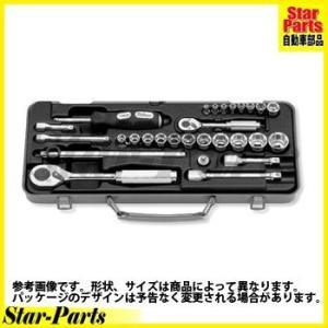 6角スタンダードソケット 1/4inch(6.35mm)差込角 2260M ハンドソケット セット KOKEN|star-parts