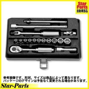 6角スタンダードソケットセット 1/4inch(6.35mm)差込角 2261M ハンドソケット セット KOKEN|star-parts