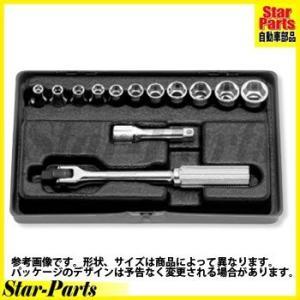 6角スタンダードソケットセット 1/4inch(6.35mm)差込角 2262M ハンドソケット セット KOKEN|star-parts