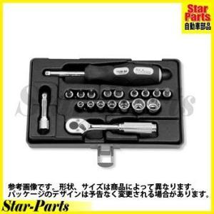 6角スタンダードソケットセット 1/4inch(6.35mm)差込角 2275 ハンドソケット セット KOKEN|star-parts