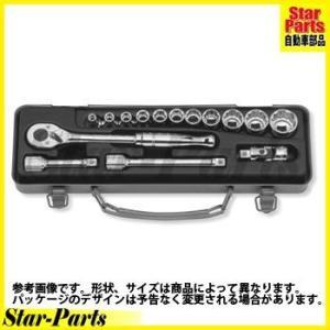 スタンダードソケットセット 3/8inch(9.5mm)差込角 3252M ハンドソケット セット KOKEN|star-parts