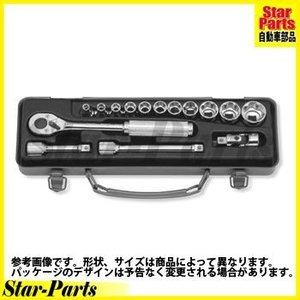 サーフェイスソケットセット 3/8inch(9.5mm)差込角 3252M-10 ハンドソケット セット KOKEN|star-parts