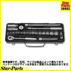 6角・12角ソケットセット 3/8inch(9.5mm)差込角 3275 ハンドソケット セット KOKEN|star-parts