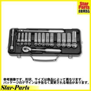 ソケットセット 3/8inch(9.5mm)差込角 3277 ハンドソケット セット KOKEN|star-parts